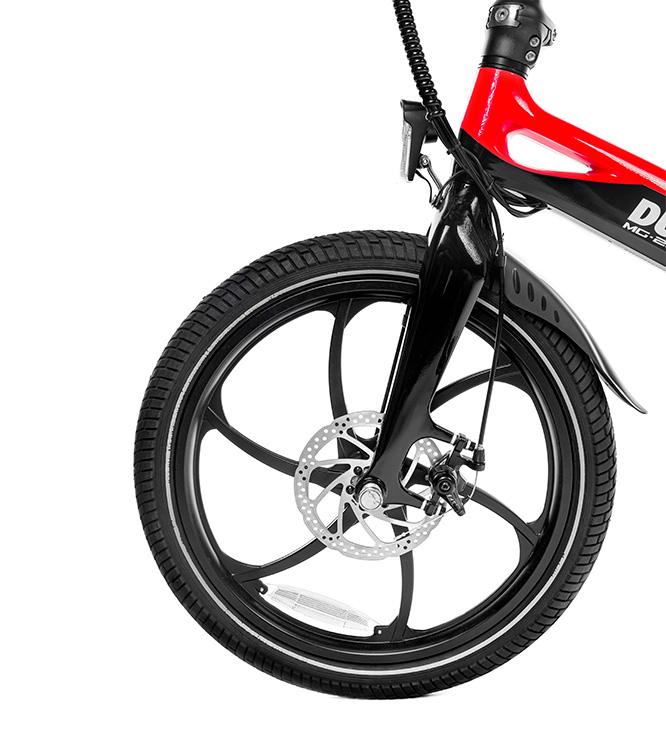 bici elettrica ducati